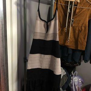 Bodycon form fitting sexy BeBe dress